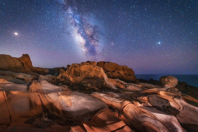 Salt Point & Milky Way, Sonoma Coast, California