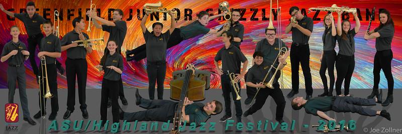 2016 Highland/ASU Jazz Festival