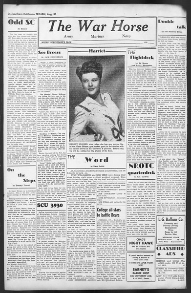 The Trojan, Vol. 35, No. 157, August 30, 1944