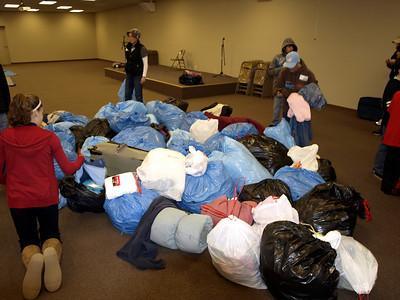 Homeless Outreach - January 23, 2011