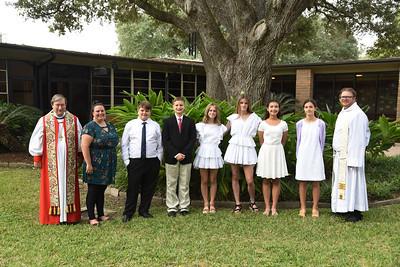 Trinity Episcopal Confirmation Service 10-25-20