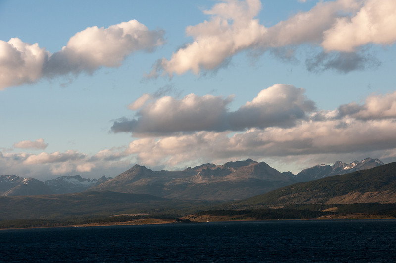 The Beagle Channel in Argentina
