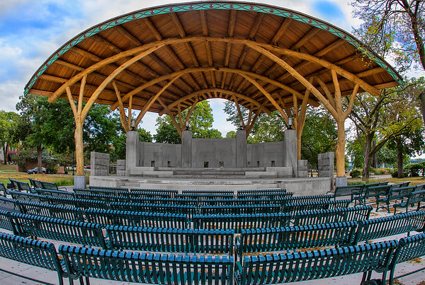 New Band Shell at Riverside Park