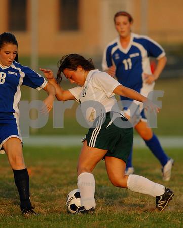2007-10-04 Valley Stream North Girls Soccer vs Jericho, 0-3