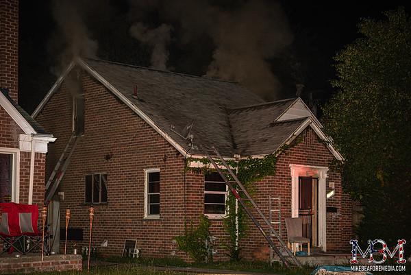 Detroit MI, House Fire 7-10-2021