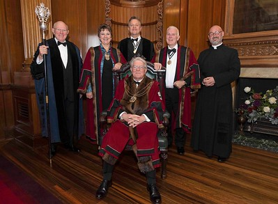 Worshipful Company of Masons, Livery Dinner 2019, Mercers Hall, 5.11.19