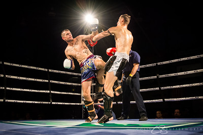 Fight 4 - Nathan Ballym v Daniel Bluett
