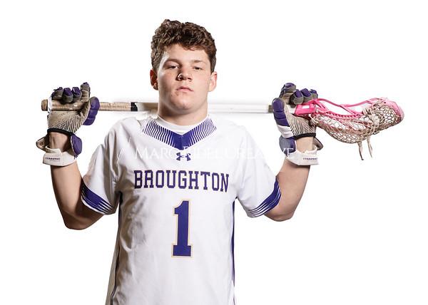 Broughton lacrosse senior photoshoot. January 27, 2021