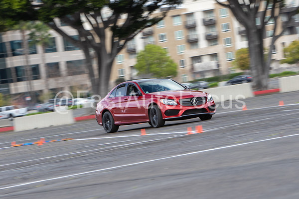 Custom Gallery - Red Mercedes C450 AMG