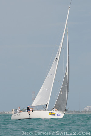 Key West Race Week 2011-J 105