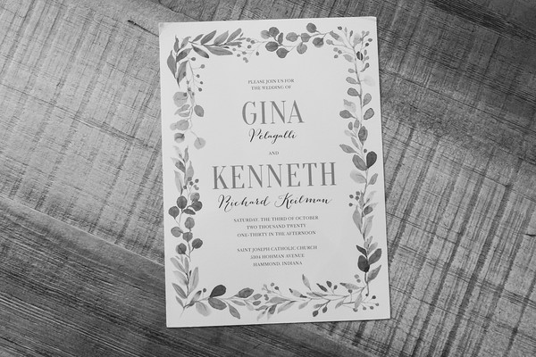 Getting Ready - Kenny & Gina
