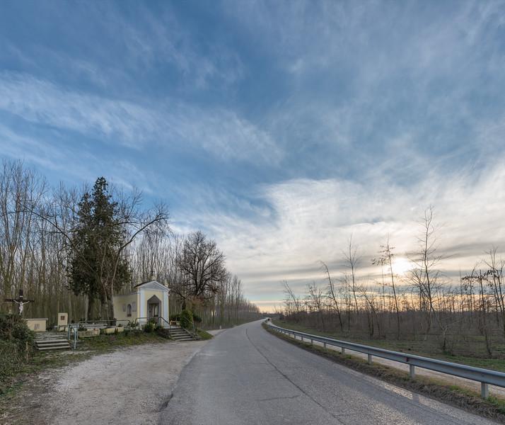 Madonna dei Correggioli - SP 57, Viadana, Mantova, Italy - March 2, 2019