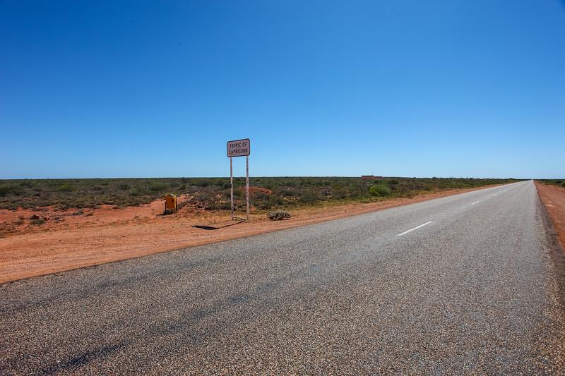 Boring Road to Carnarvon