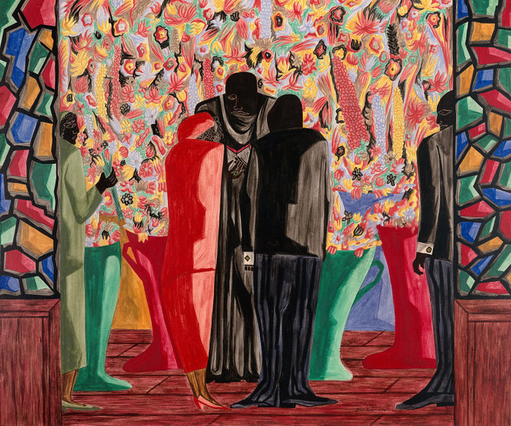"Jacob Lawrence, ""The Wedding,"" 1948"