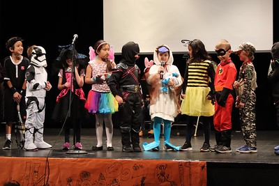 Lower School Halloween Parade and Assembly