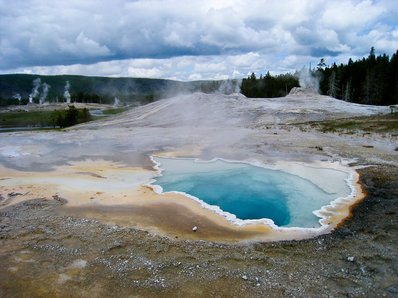 Heart Spring at Upper Geyser Basin