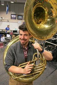 Robert Bergeron Leom. High School band director, Jan. 8, 2020