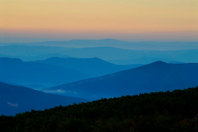 Eastern USA Landscapes - Mostly West Virginia with a few South Carolina, North Carolina and Tennessee images.