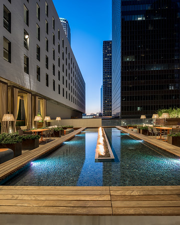 Sheraton Grand - Los Angeles - 3rd Floor Deck