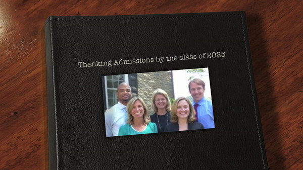 Thank You Admissions!