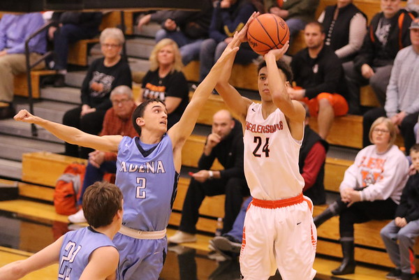 18 Boys Basketball:  Adena at Wheelersburg 2017