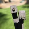.91ctw Old European Cut Diamond Clover Earrings 5