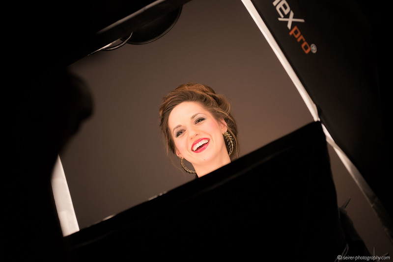 Making-Of Bilder vom Shooting mit Coline-Marie Orliac