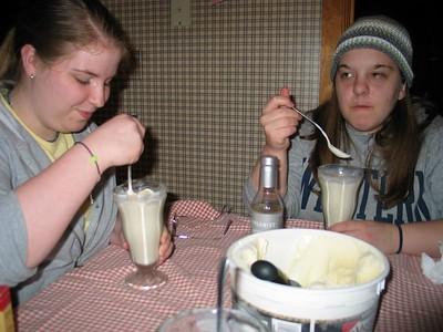 Becky and Melinda Visit
