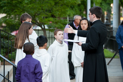 Easter Vigil Mass - 2012