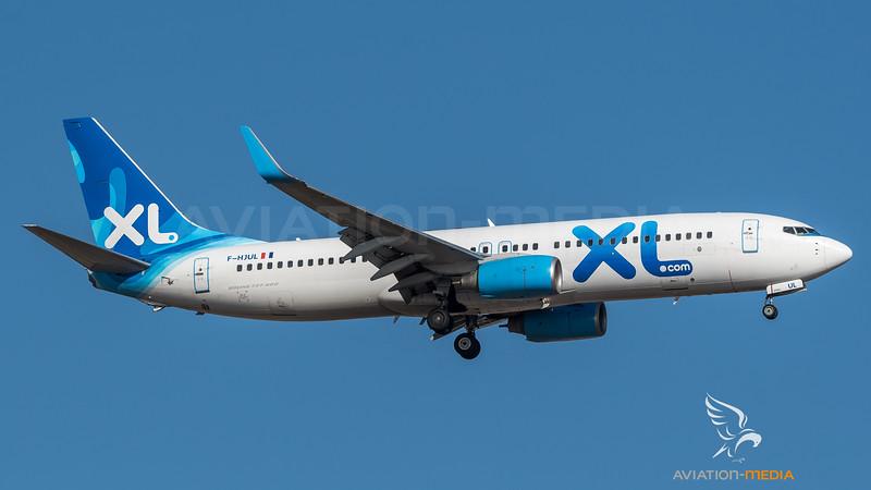 XL Airways / Boeing B737-8Q8 / F-HJUL