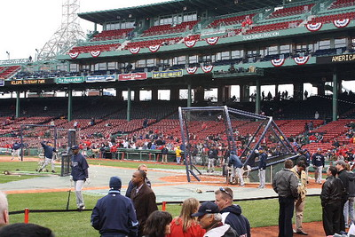 Boston Red Sox vs Tampa Bay Rays at Fenway Park 04/08/09