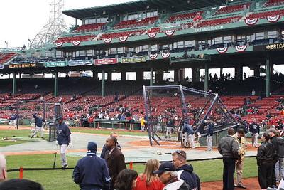 Boston Red Sox vs Tampa Bay Rays at Fenway Park 04/08/09