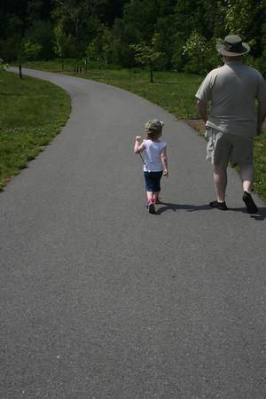 5 mile trek in Roanoke
