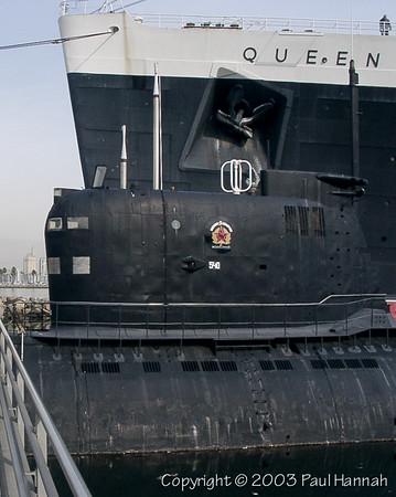 """Soviet """"Scorpion"""" (b-427) Foxtrot Class – Long Beach, CA"""