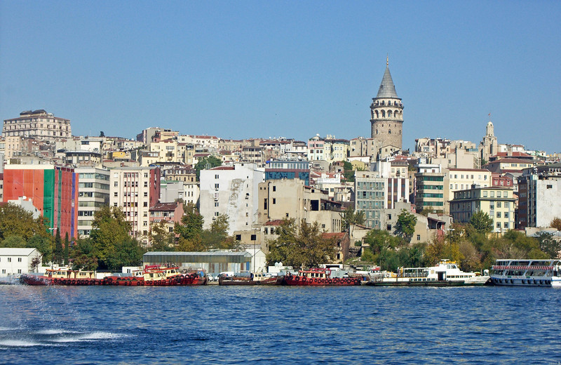 16-Starting the afternoon boat trip, Galata Tower and Karaköy