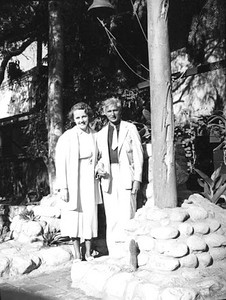 1937, Herman and Ethel on Olvera St.