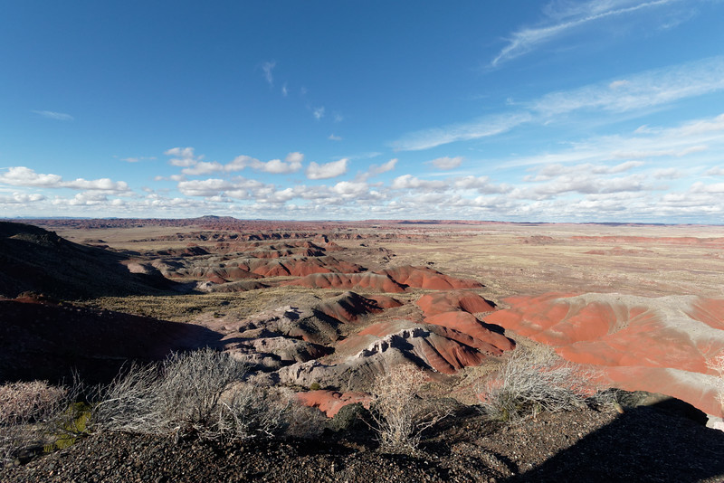 Painted Desert -- Petrified Forest NP