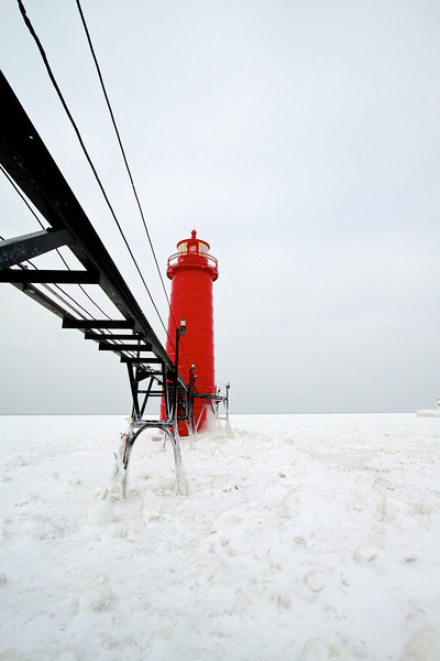 Grand Haven Pier January 2014