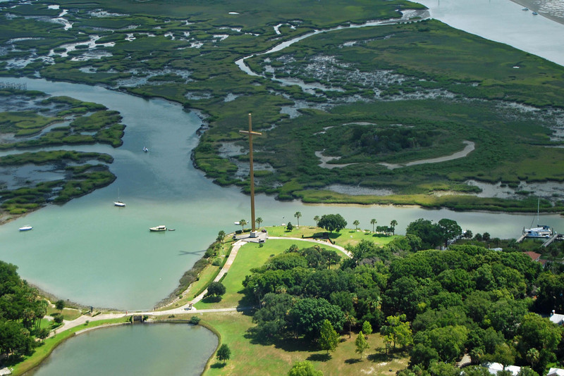 1778 St Augustine from the air.jpg