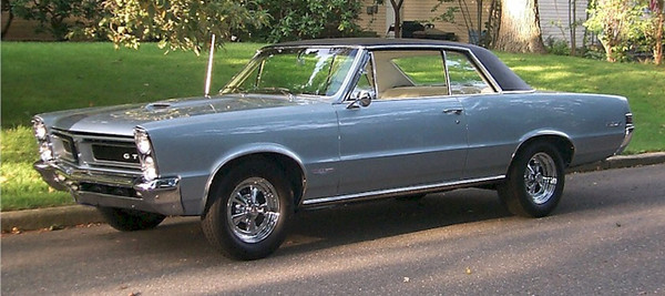 My first real hot rod. 1965 GTO