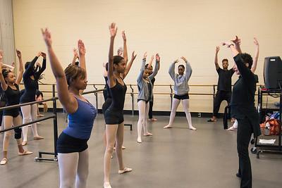 164-1122 Dance Theatre of Harlem Class