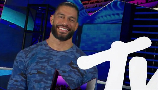 Roman Reigns - Screencaps / MTV EMA Appearance