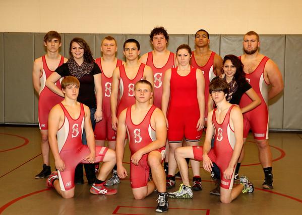 SNHS Wrestling Team 2014