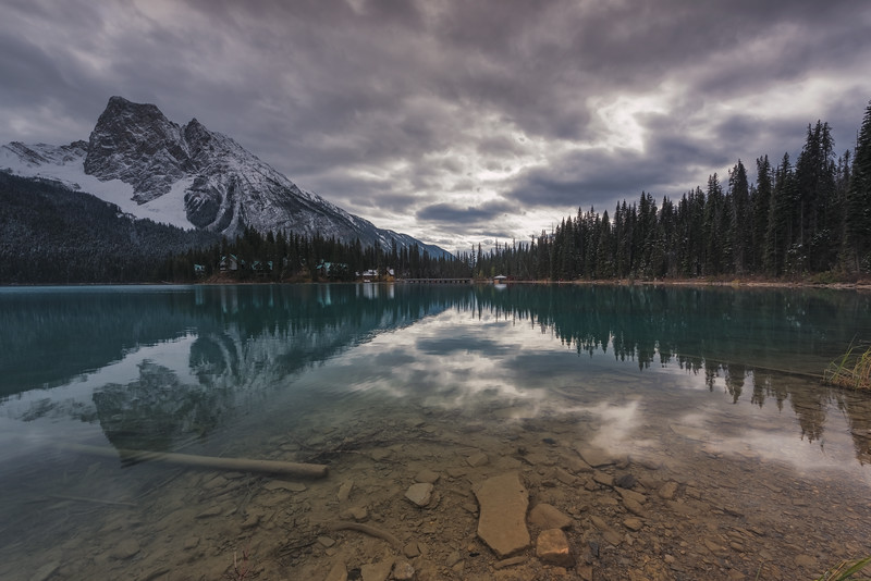 Emerald Lake, Yoho National Park. British Columbia, Canada.