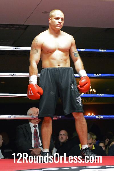 Pro bout 1 Samuel Suska, Pittsburgh, PA -vs- Zach Swallen, Cincinnati, OH, 4rds, Cruiserweight