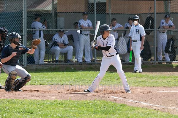 HHS vs Cedar View Baseball 04-27-15