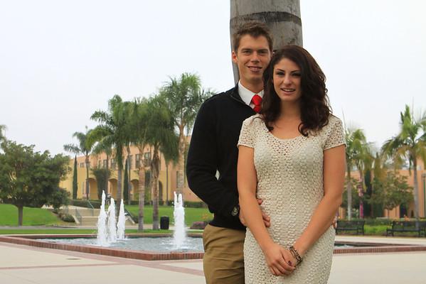 Natalie and David