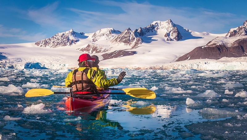 Arctic Kayakers