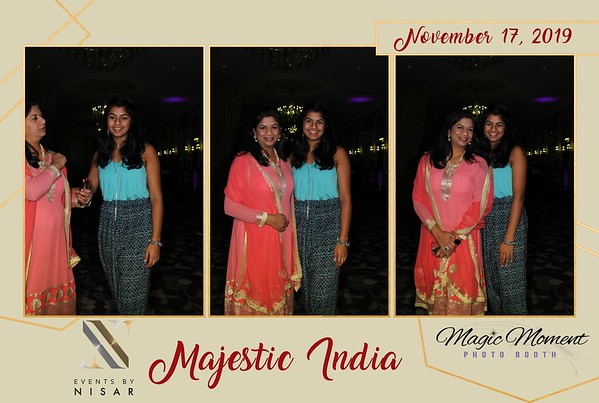 Majestic India - Mirror Booth (11/17/19)