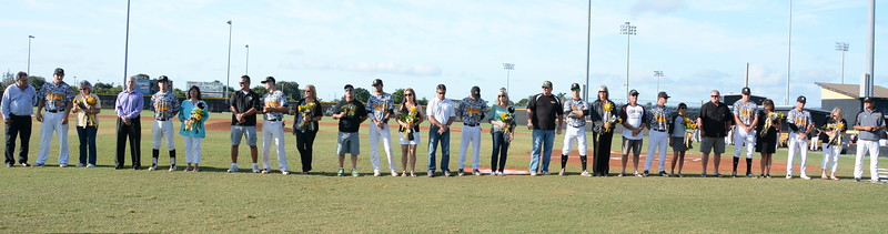 Baseball Senior Night 4/8/2015